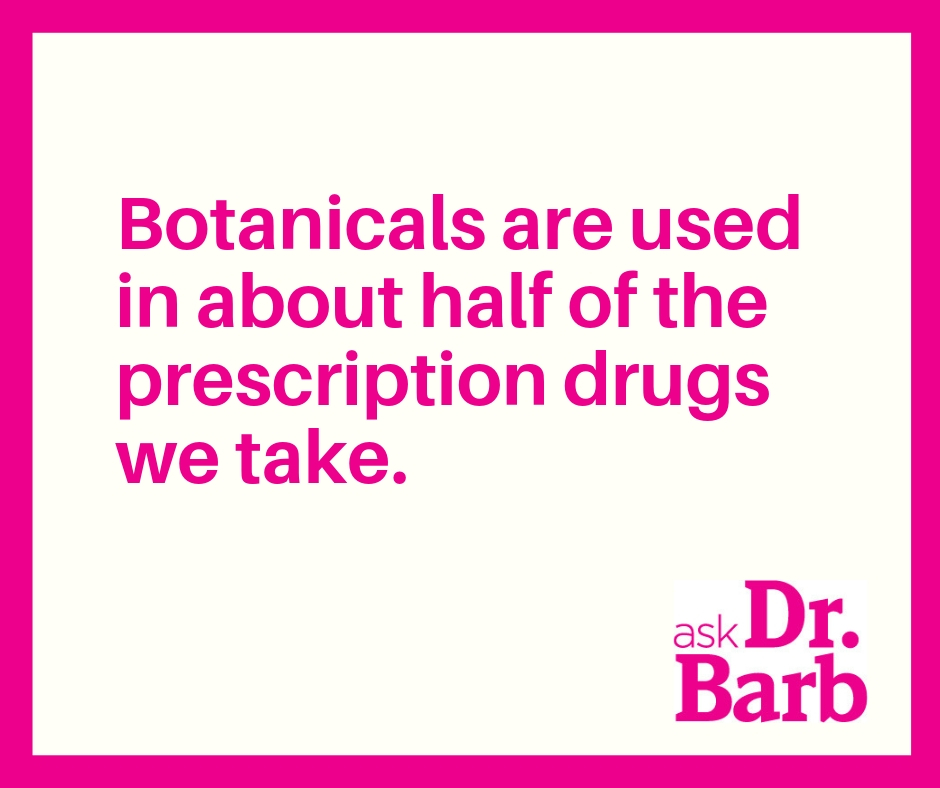 Callout: Botanicals in prescriptions